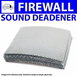 Heat & Sound Deadener Dodge Challenger 2008 + Firewall Kit 10611Cm2