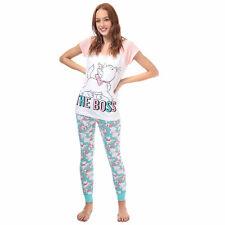 Womens Disney Aristocats Marie Pyjamas In White / Pink