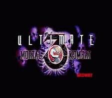 Ultimate Mortal Kombat 3 - SNES Super Nintendo Game