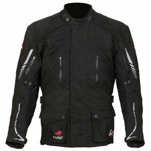 Weise Outlast Frontier 'LAMINATED' Motorcycle Motorbike Textile Jacket Black