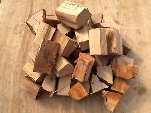 Large box of Beech BBQ smoker wood chunks kiln dried