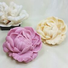Silicone Mold, blossoming Peony - 3D, Candle, Soap, Plaster mold