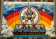 Vintage 1983 HE-MAN AND THE MASTERS OF THE UNIVERSE Pillowcase - MOTU - ORIGINAL