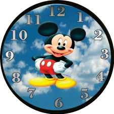 Mickey Mouse Clock Nursery Decor Kids Bedroom Decor Playroom Personalized