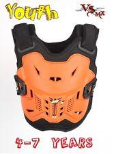 Leatt 2.5 PEEWEE Chest Protector Armour MX Motocross Orange Kids One Size