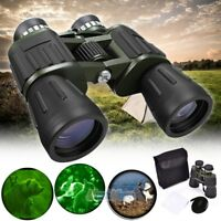 60 x 50 Zoom Day Night Vision Outdoor Travel Binoculars Hunting Telescope+Case