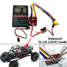 Hobbywing QuicRun 1080 80A Waterproof Brushed ESC w/ Program Card for RC Crawler