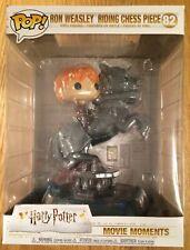 New Funko Pop! Ron Weasley Riding Chess Piece 82 Harry Potter Vinyl Figure