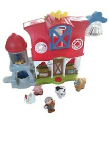 Fisher Price Little People Barn 2016 Animals and Figures Sounds