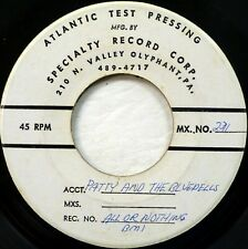 PATTY LABELLE BlueBells TEST PRESSING 45 All Or Nothing on SPECIALTY Recs CT 941