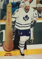 1994-95 Pinnacle #209 Dave Ellett Toronto Maple Leafs Hockey Card