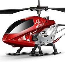 Remote Control Helicopter, S107H-E Aircraft with Altitude Hold, One Key take Off