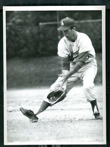 Minor League Photo Baseball Of Tim Harkness LA affiliate Atlanta Crackers