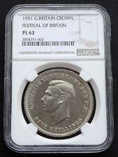 1951 Britain: 1 Crown Festival of Britain NGC PL62
