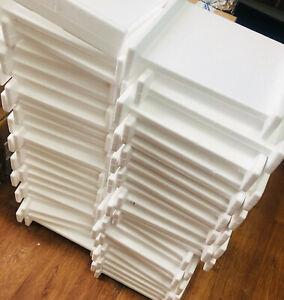 Polystyrene White Sheets Foam Packing Grade Protection Light 27cm x 27cm x 6cm