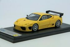 1/43 BBR Ferrari 360 GTC 2003 Yellow Free Shipping/ MR Looksmart