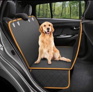 Waterproof Dog Car Seat Cover Hammock for Cat Pet SUV Van Back Rear Bench Pad