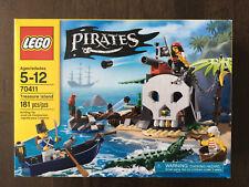 LEGO 70411 Pirates Treasure Island New Unopened Retired