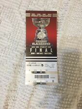 Chicago Blackhawks 2013 Stanley Cup Ticket Stub 2nd Home Game