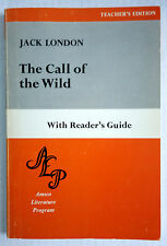 The Call of the Wild by Jack London VTG 1970 PB Reader's Guide Amsco Literature