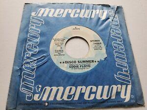 "Eddie Floyd - Disco Été / Do It En The Eau Promo 1978 Disco Soul 7 "" NM"