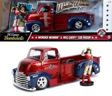 Wonder Woman & 1952 Chevy Coe Pickup DC Comics Bombshells 1:24 Jada Toys 30453