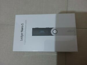 Ledger Nano S Cryptocurrency Hardware Wallet - Black - Brand New Factory Sealed