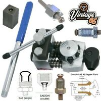 "Professional Brake Pipe Flaring Tool 3/16""- 4.75 5ingle Double Oe Quality Flares"