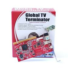 KWORLD Global TV Terminator TV7131 PCI Analog Television Card TV Decoder Record