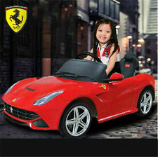 LICENSED FERRARI AUDI BENTLEY LAND ROVER 12V KIDS ELECTRIC RIDE ON CAR TOY RC