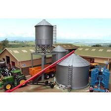 BRUSHWOOD BT8400 Silo Set - 1:32 Farm Toys