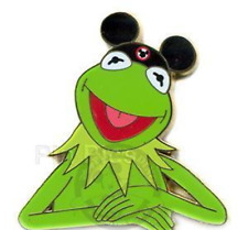 Rare Disney Pin 56983 Muppets Kermit The Frog Artist Proof LE Only 25 made AP