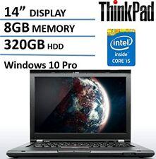 Lenovo Thinkpad T430 Premium Built Business Laptop Computer Intel Dual Core i5