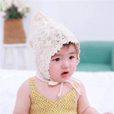 Infant Princess Hat Cap Palace Hat Cute Sun Hats Korean Flower Lace Side Caps S
