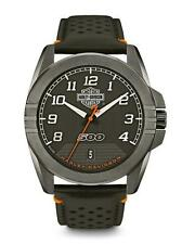 Brand New Men's Harley-Davidson Watch #78B143 By Bulova