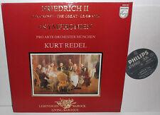 9502 057 Friedrich II The Great 4 Symphonies Pro Arte Orc Munchen Kurt Redel