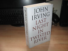 John Irving Last Night in Twisted River 2009 uncorrected proof Owen Meany author