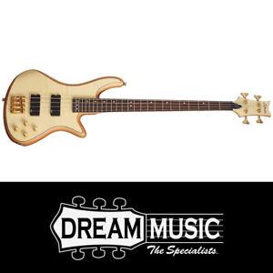 Schecter SCH2531 Stiletto Custom-4 NAT Bass Guitar RRP$1549