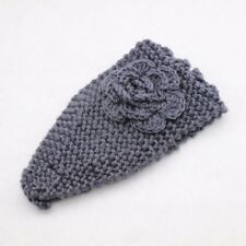 Ladies winter wool head band wrap hairband headband twist knot ribbed flower
