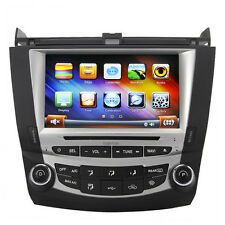 "US Ship Koolertron 8"" Autoradio Stereo DVD GPS Satnav for 2003-2007 Honda Accord"