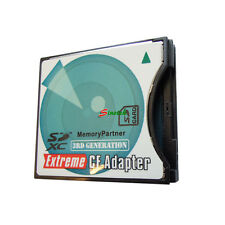 Extreme SD SDHC SDXC to CF Type II CompactFlash II Adapter 8/16/32/64 GB
