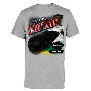 NASCAR Custome Name-Number-Teams T-Shirt S-5XL