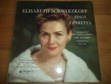 "ELISABETH SCHWARZKOPF SINGS OPERETTA - 12"" LP - COLUMBIA - 33CX 1570 - RED SEMI"