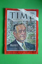 TIME rivista magazine DECEMBER 30 1966 BANK OF AMERICA'S RUDOLPH PETERSON
