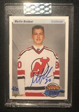 2019-20 UD Buyback MARTIN BRODEUR RC AUTO /10 Young Guns Autograph 1990-91 SP