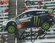 Ken Block signed Monster Ford Fiesta Global RallyCross GRC 8x10 Photo