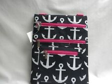 UNIVERSAL IPAD, TABLET,MESSENGER,PADDED,ANCHOR BLACK,BAG,SCHOOL, TRAVEL,NEW