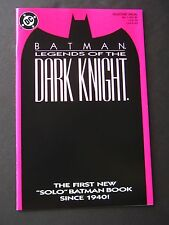 Legends of the Dark Knight #1 Red  NM  1989  Batman  High Grade DC Comic