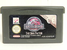 GBA Jurassic Park III The Dna Faktor   ...