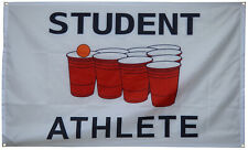 Student Athlete Banner 3x5 Ft Flag  for College Dorm Frat or Man Cave